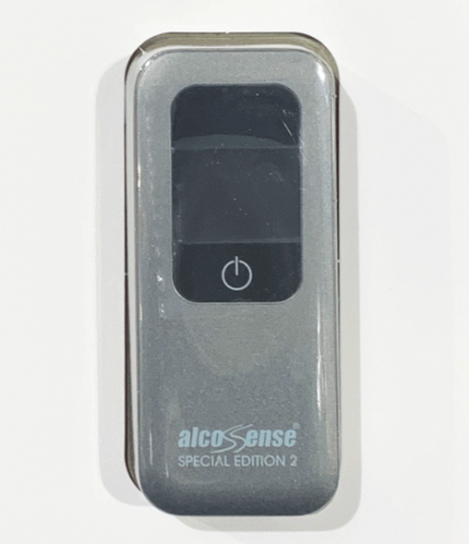 AlcoSense Special Edition 2 SE2 Pocket Alcohol Digital Breathalyser + Blow Tubes